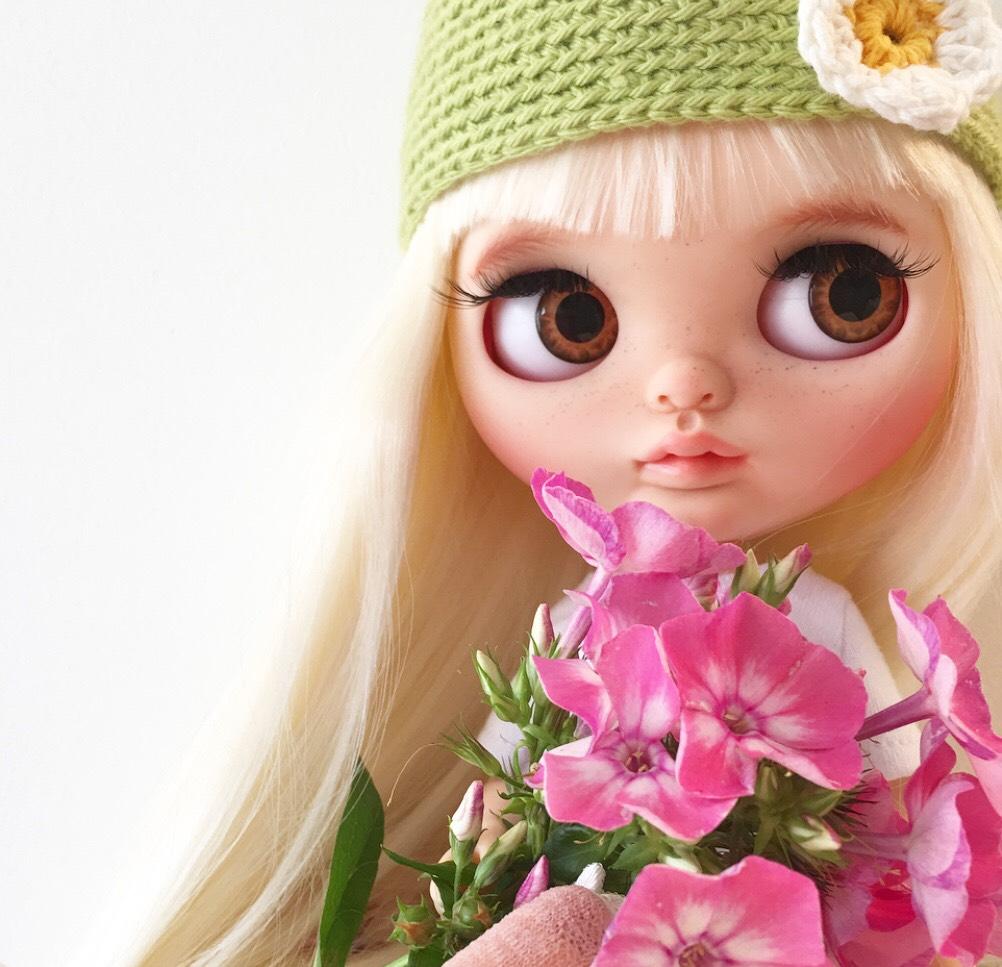 blonde bloemen
