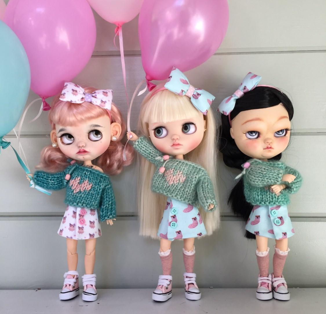 blythe 3 girls